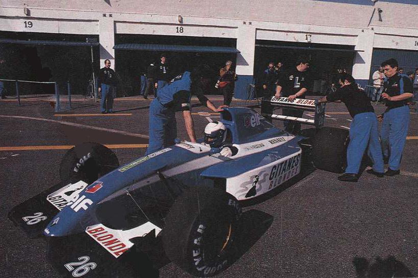 Toyota Corolla Le >> Alain Prost Grand Prix Homepage - Photo Gallery