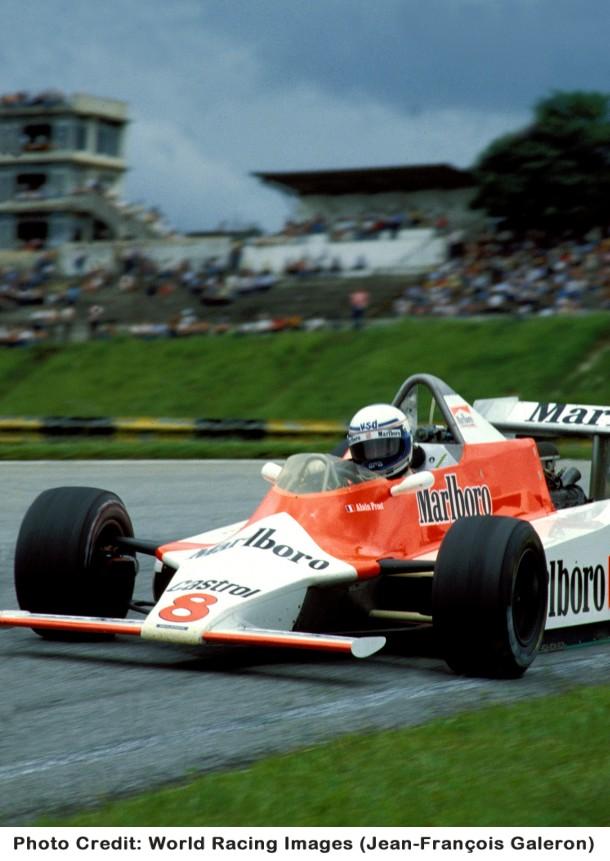 普罗斯特的第一个F1队友约翰. 沃森(John Watson)   普罗...